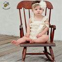 【赤ちゃんドレス】ワンピース レース 子供ドレス オールインワン つなぎ ロンパース ベビー 女の子