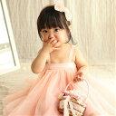 【赤ちゃんチュニックドレス】【70/80/90/100/110cm】ベビー ドレス 子供 ドレス チュール チュチュ スカート ベアト…