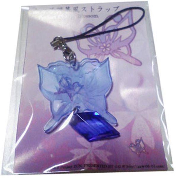 【新品】幽々子弾幕風ストラップ(ライトブルー) / G.G.W 発売日:2014-09-16