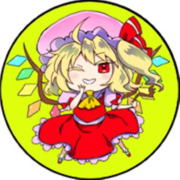 【新品】東方カンバッチ・フランドール(時任) / G.G.W 発売日:2015-12-09