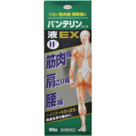 【第2類医薬品】 バンテリンコーワ液 EXW 90g × 5個セット