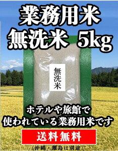 【送料無料】 無洗米 5kg 米 【業務用米 無洗米 5kg】 生活応援 期間限定 数量限定 新潟産 5キロ 業務用米 送料無料