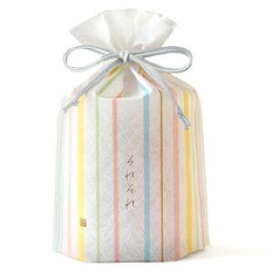 それぞれ巾着 6種6袋入.<銀座あけぼの 和菓子 お菓子 おかき せんべい 詰合せ 手土産 ギフト プレゼント 詰め合わせ お取り寄せ>