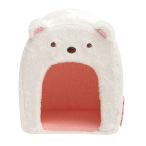 【New Sumikkoグッズ】てのりぬいぐるみ しろくまハウス MX-97901 すみっコぐらし(白熊型)★てのりぬいぐるみ専用のお家すみっコぐらしコレクション/シロクマグッズふろしきミニフェルトマ