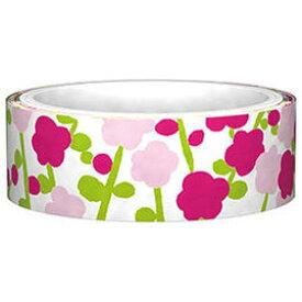【New】SOU・SOU寒紅梅 SOUマスキングテープ15W(15D)AR030-79 ★15mm幅マスキングテープ/ピンクのお花柄小花柄フラワーデザイン/装飾シールテープFUNTAPE/かんこうばい★【3cmメール便OK】