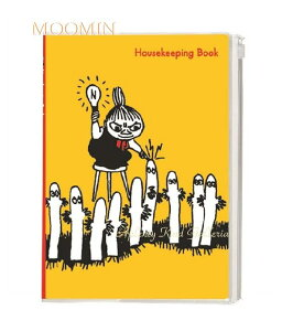 【MOOMINグッズ】ムーミン シンプル家計簿 M/M B5サイズ イエロー D085-78 ★ムーミンのやりくりかけいぼ/ハウスキーピングブックノート手帳/収支管理帳/仕分け封筒シール付スライドファス