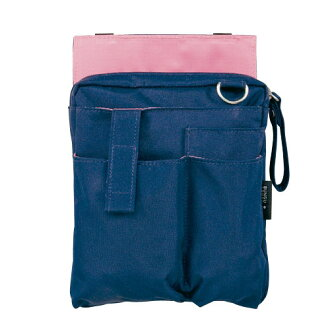 Kutsuwa /Dr.ION stationery apron bag holder type (navy) be003nb