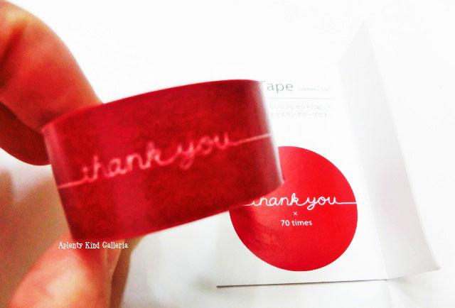 【大人気商品】Gift tape thank you 赤色/ありがとう(レッド) GF−MT2 ★リボン熨斗デザインマスキングテープマルアイギフトテープアリガトウの気持ちを贈ります内祝い/お心グッズおこころグッズ/母の日父の日ギフトに★【3cmメール便OK】