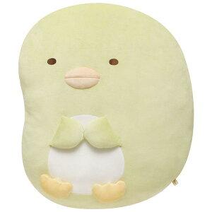 【Sumikkoグッズ】スーパーもーちもちダイカットクッションすみっコぐらし ぺんぎん? MX-34701★すみっこのクッションぬいぐるみ風すみっこペンギングッズ/やわらか癒しグッズ座布団マク