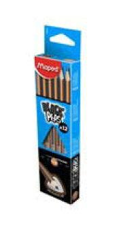 マペッド /MAPED pencil (triangular shaft) 2 B 1 dozen part No.: 850022