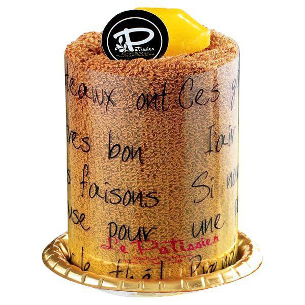 【プチギフト】 ル・パティシエ タオルケーキ ムース コーヒー LPS-410★タオルギフト内祝い引き出物にラッピングされています★【3cmメール便不可】