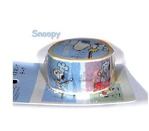 【SNOOPYグッズ】スヌーピーマスキングテープ SNYYY A/ライトブルー S4832949 ★幅22.5mmのスヌーピーのマステ/Peanutsデザインのマステ/スヌーピーウッドストックピーナッツキャラクターズ/スタ