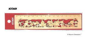 【MOOMINグッズ】ムーミン木製定規 15cm S4006364 MU19AW リトルミイ/レッド台紙 ★ムーミンの木製の定規15センチものさしじょうぎ/型ぬきデザインおしゃれな定規ムーミングッズリトルミイグッ
