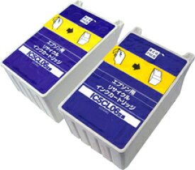 【エコリカインク(プリンター用交換インク)】 エプソン互換品 IC5CL06W互換 ECI-E06C2P カラー2本袋入パック