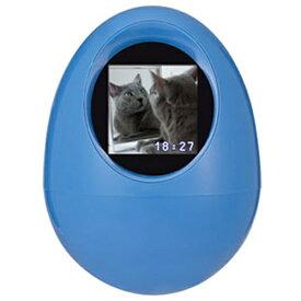 【アウトレット】PPF-OVOB プリンストン 液晶 デジタル フォトフレーム 卵型 ブルー