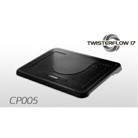Enermax 17インチワイド対応ノートPCクーラー TWISTERFLOW17 CP005