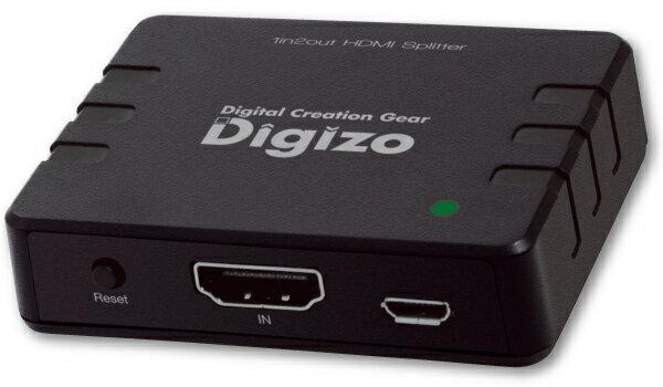 【アウトレット】【メール便可】プリンストン PHM-SP102A HDMIスプリッター HDMI分配器 HDMI Ver 1.4 1ポート入力 2出力 Ver1.4規格のフルHD&4K2K&3Dに対応 外部給電用のUSBケーブルが付属(AC-USBは付属しません)