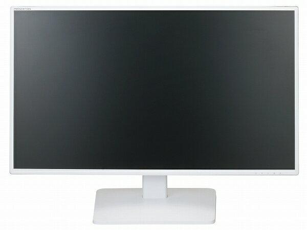 【アウトレット】 プリンストン PTFWLT-27W 27型 27インチ フルHD ワイド液晶モニター 液晶ディスプレイ ノングレア 非光沢 広視野角パネル採用 HDCP対応 DVI HDMI入力 ホワイト