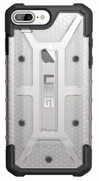 【アウトレット】【メール便可】UAG iPhone8 plus / iPhone7 plus / iPhone6s plus 用 Plasma ケース コンポジットケース アイス 国内正規代理店品 アップル Apple URBAN ARMOR GEAR アーバンアーマーギア UAG-IPH7PLS-ICE