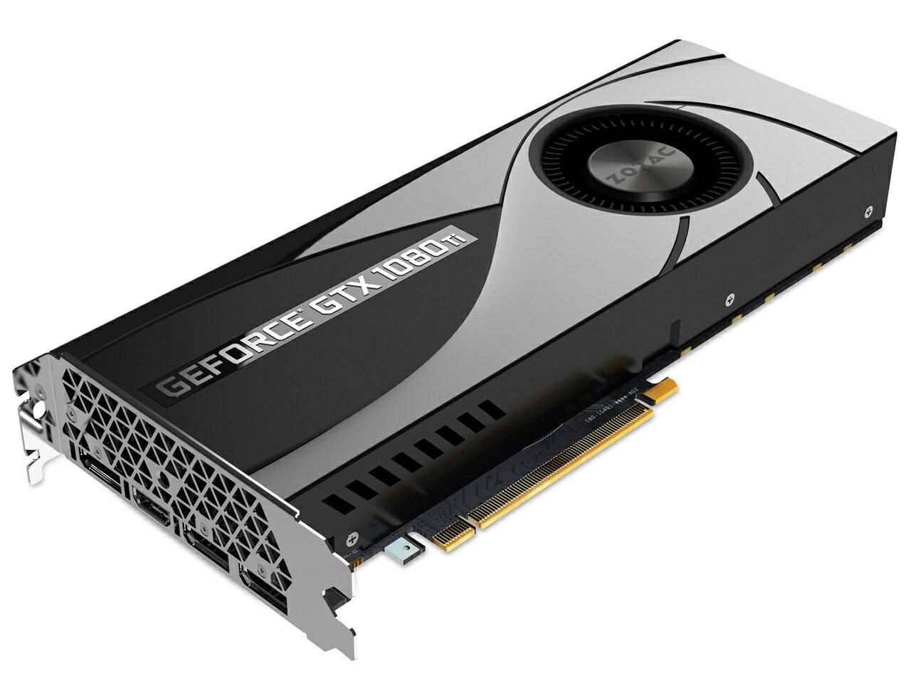 【中古】 ZOTAC GeForce GTX1080Ti Blower 11GB ZT-P10810B-10B バルク グラフィックボード グラフィックカード グラボ ビデオカード nVIDIA GeForce GTX 1080 Ti