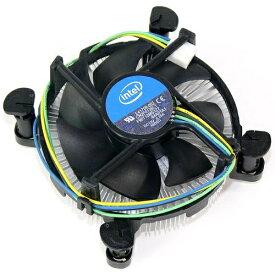 【アウトレット】【インテル純正】 CPUクーラー 未使用品 LGA1150 LGA1151 LGA1155 LGA1156 銅ヘッド アルミ放熱フィン プッシュピン 空冷 intel E41759-002