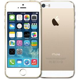 【中古】【メール便可】 iPhone5s 本体 16GB ゴールド 白ロム Docomo版 Apple アップル A1453 ME334J/A 箱無し 付属品無し Cランク