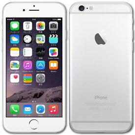 【ジャンク】【メール便可】 iPhone6 本体 16GB シルバー 白ロム au版 Apple アップル A1586 MG482J/A 箱無し 付属品無し