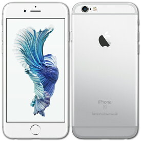 【中古】【メール便送料無料】 iPhone6s 本体 32GB シルバー 白ロム au版 Apple アップル A1688 MN0X2J/A 箱無し 付属品無し Bランク