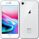 【中古】【送料無料】 Apple アップル iPhone8 本体 64GB シルバー 白ロム au版 Apple アップル A1906 MQ792J/A 箱無し 付属品無し Cランク