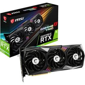 【送料無料】【新品】 MSI GeForce RTX 3070 GAMING X TRIO 8GB GDDR6 NVIDIA GeForce RTX 3070 搭載 トリプルファンクーラー Tri Frozr 2 採用 グラフィックカード グラフィックボード グラボ