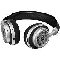 【訳あり・アウトレット】Master&DynamicBluetoothワイヤレスヘッドホンMW50S1-BLK[シルバー/ブラック][通常保証][管理:WH001-9]