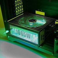 INWINインウィンフルタワーPCケースH-FRAME2.0GREENグリーン