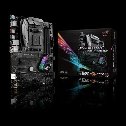 【新品 未使用 訳あり アウトレット】ASUS エイスース マザーボード ROG STRIX B350-F GAMING [AMD AM4 Ryzen B350] [保証:通常保証] [管理:WH001:9]