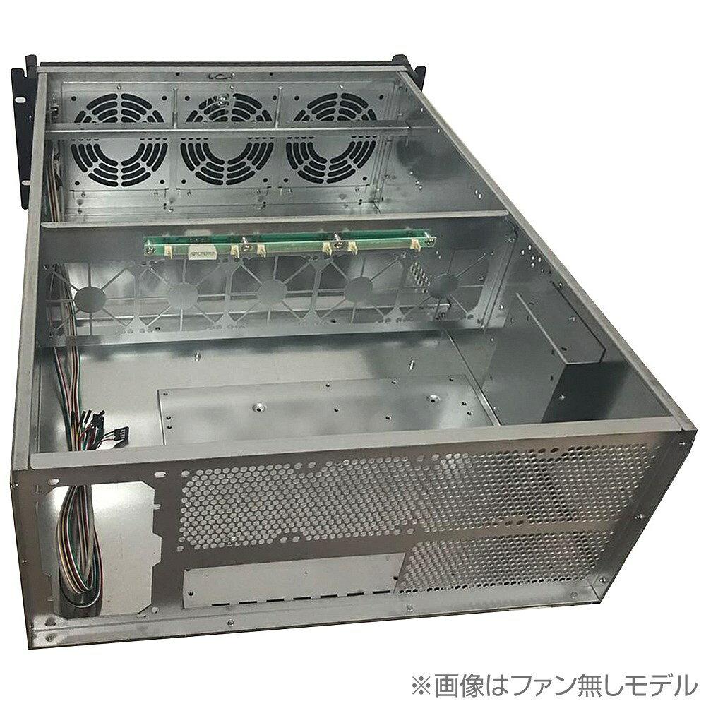 マイニング用 ラックマウント型シャーシ [ファン無しモデル YCC-4000L-D]