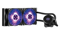 CoolerMasterクーラーマスター簡易水冷CPUクーラーMasterLiquidML240LRGB[MLW-D24M-A20PC-R1]