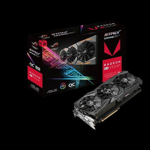 ASUS エイスース グラフィックボード ROG-STRIX-RXVEGA64-O8G-GAMING [AMD Radeon RX Vega 64 8GB]