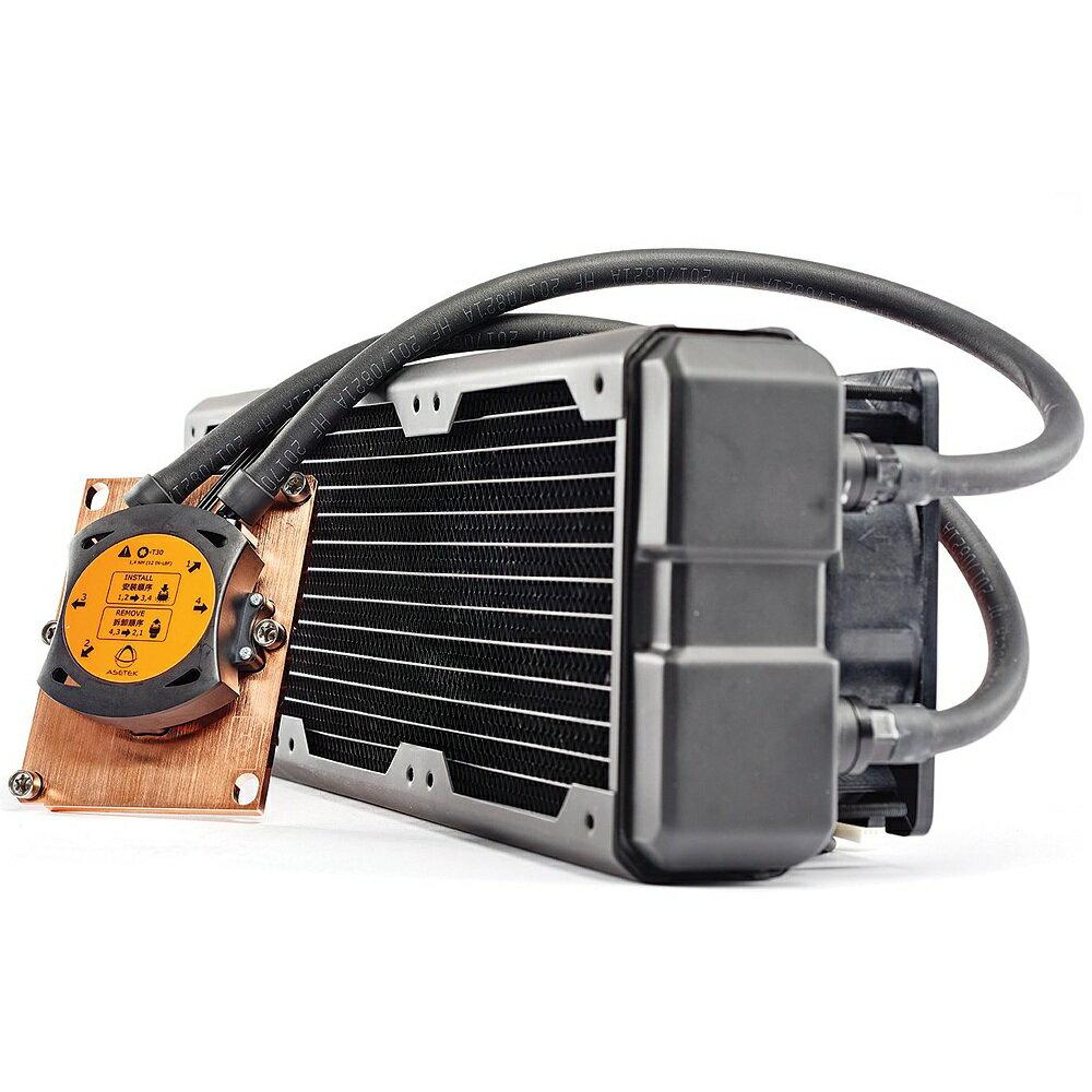 Asetek 690LX-PN 360mm All-In-One Liquid Cooler 【Intel Xeon W-3175X用 360mmラジエーター搭載 水冷CPUクーラーキット】[製品保証:1年間][外箱に軽微な破損あり]