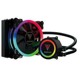 GAMDIAS ガンディアス RGB LED搭載 簡易水冷CPUクーラー CHOINE E1A 120R