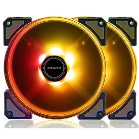 InWin CROWN AC140 2台入り インウィン RGB対応 14cmケースファン [AC140FAN-2PK]