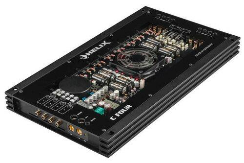 【新製品】HELIX(ヘリックス)C-FOUR 4hパワーアンプ 車載用4hパワーアンプ150W×4ch(4Ωステレオ時)