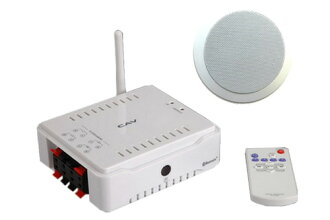 CAV Japan (CAV JAPAN INC.) HT-42BT / Bluetooth enabled compact amplifier + embedded embedded speaker set