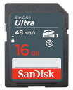 SDSDUNB-016G-GN3IN【SDHCカード 16GB CLASS10 48MB/s】