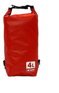 MOBO ウォータースポーツドライバッグ 防水バッグ 頑丈・中厚 レッド 4L AM-BDB-RD04