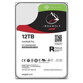《在庫あり》Seagate(シーゲート)IronWolf 12TB [ST12000VN0008]【楽天】