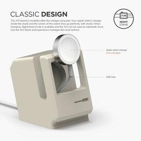 《在庫あり》Apple Watch 専用 シリコン製 スタンド W3 STAND ホワイト [EST-WT3-WH]