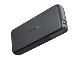 《在庫あり》RAVPower 最新急速充電規格 Power Delivery 対応 最大60Wまで MacBook Proなどパワーが必要なハイスペックデバイスへの充電にも対応 20000mAhモバイルバッテリー PD60W対応 PSE認証済み [RP-PB201-BK]