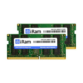 《メーカー在庫あり》iRam 260Pin DDR4 SO-DIMM 2666MHz 16GB(8GBx2) [260-2666-8192-IR][260-2666-8192-IR]