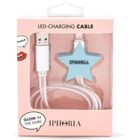 IPHORIA Lighting Cable for Apple iPhone − Blue Star 15142 [振込不可]