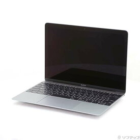 【中古】Apple(アップル) MacBook 12-inch Early 2016 MLH82J/A Core_m5 1.2GHz 8GB SSD512GB スペースグレイ 〔10.12 Sierra〕 【291-ud】