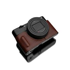 GARIZ GARIZ SONY RX100 VI (DSC-RX100M6) 用 本革カメラケース HG-RX100M6BRN ブラウン HG-RX100M6BRN ブラウン HGRX100M6BRN